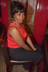 DSC_0065 Rita from Angola Out on the Town Beautiful Portrait at Charlie Wright's Music Lounge Shoreditch London