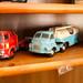 Collection personnelle de Rolf, propriétaire du Bedford Garage. Smilde, Pays-Bas.