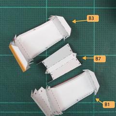 วิธีทำของเล่นโมเดลกระดาษซุปเปอร์แมน (Chibi Superman  Papercraft Model) 022