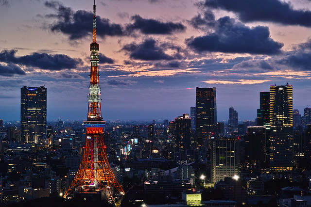 Tokyo Tower from World Trade Center