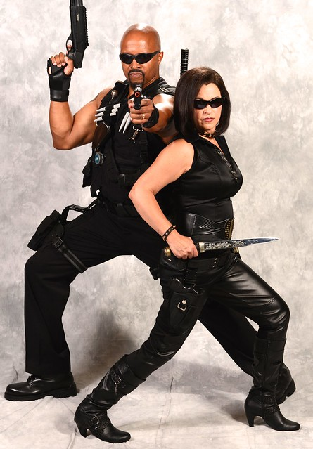 Blade and Anita Blake