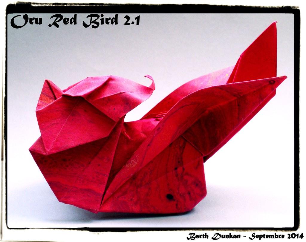Oru Red Bird 2.1 - Barth Dunkan