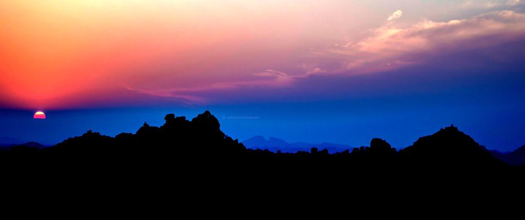 Ultrawide 219 Sunset Wallpaper Vivek M A Flickr