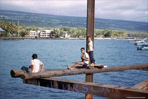1950s kona hawaii bigisland slide