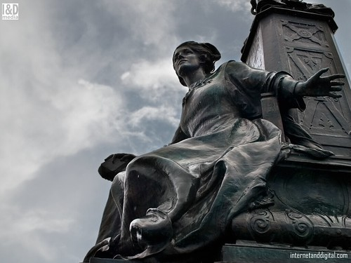 "Detail of ""Navigation"" statue at Kelvin Way Bridge Glasgow | by Internet & Digital"