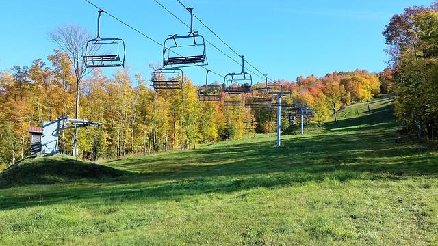 Sur Une Pente De Ski Du Mont Owl's Head. 2016-10-14 15:09.27