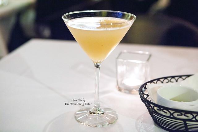 White Peach Martini