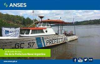 30 de junio. Día de la Prefectura Naval Argentina