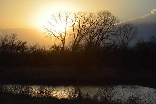 sunset golden kansas wichita chisholmcreekpark