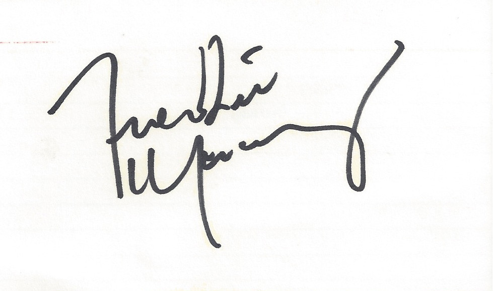 Freddie Mercury - Queen - Autograph | Joe Merchant | Flickr