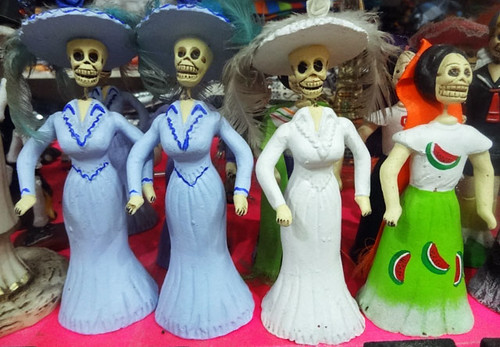 mexican-skull-dolls | by quirkytravelguy