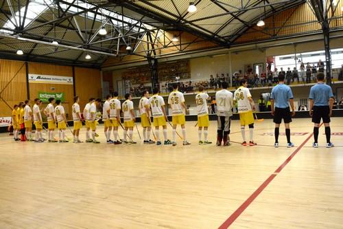Junioren U18 Aufstiegsspiele - Jona-Uznach Flames & UHC Thun Saison 2013/14