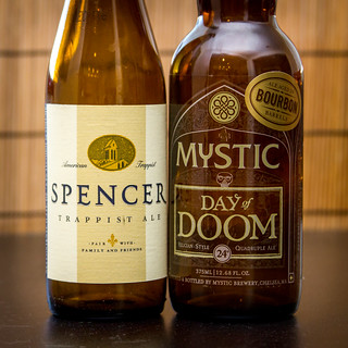 Spencer Trappist Ale and Mystic's Day of Doom | by fourbrewers