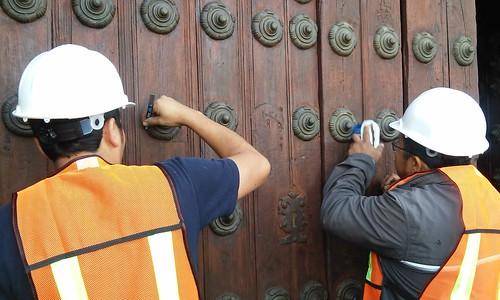 Restauración de la Puertas de Catedral #Puebla