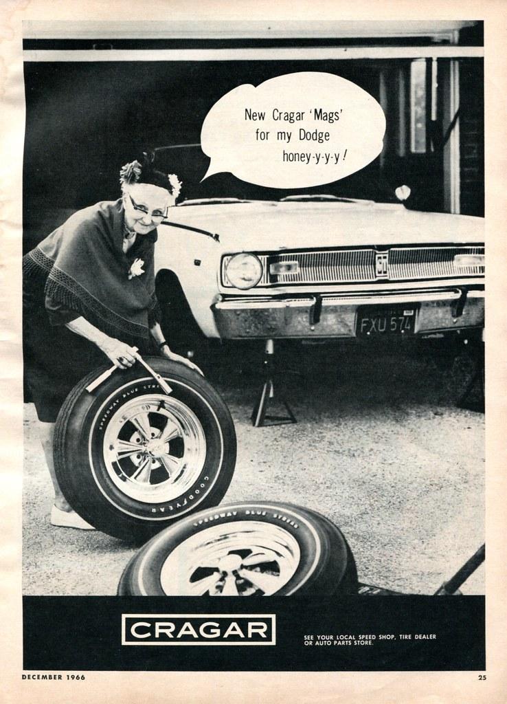 1966 Cragar Mags Advertisement Hot Rod December 1966 | Flickr