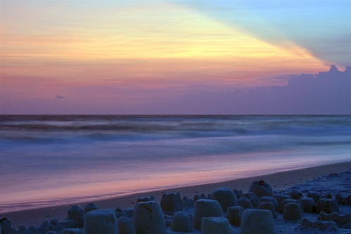sunset beach gulfofmexico landscape landscapes sand surf gulf florida sandcastles suset mexicobeach
