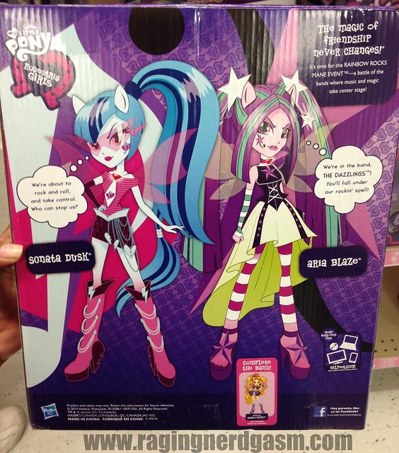 My Little Pony Equestria Girls Rainbow Rocks Sonata Dusk Aria Blaze (3)