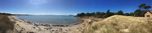 panorama swansea tasmania australia