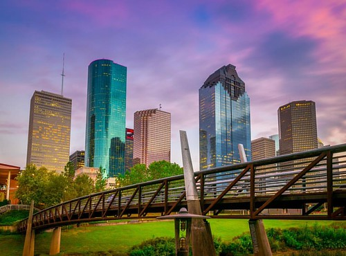 Purple hour | Houston, TX | by brijonmang