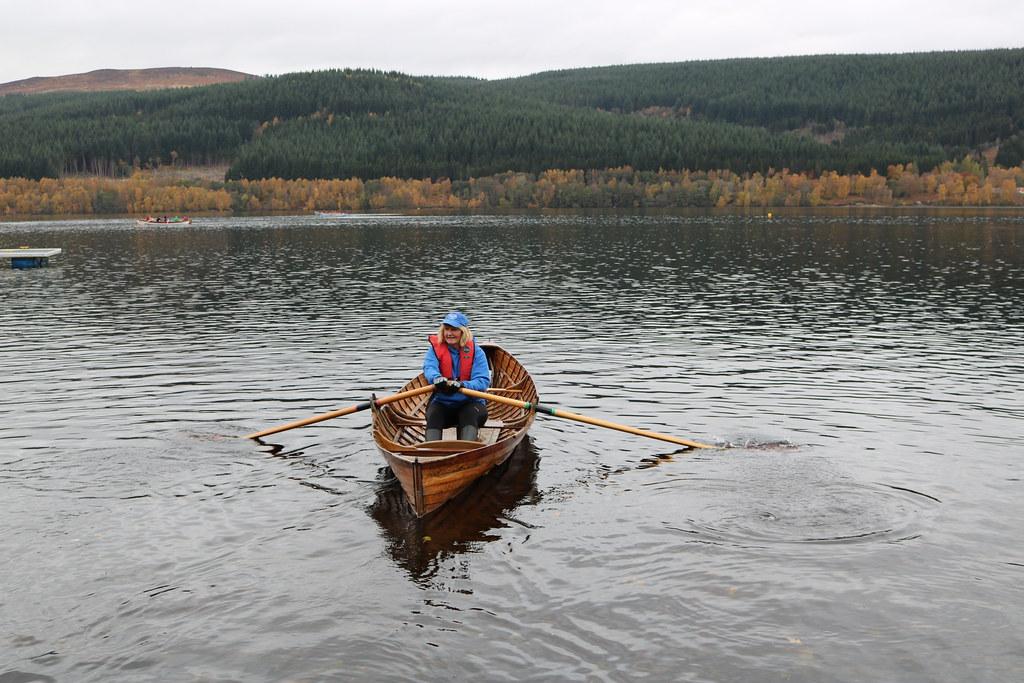 Old rowing boat   SCRA Freshwater Sprints, Loch Tummel. A fe…   Flickr