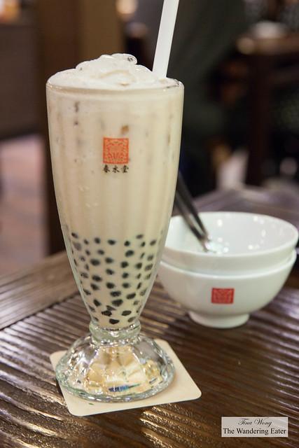 Original pearl milk tea