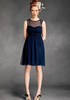 Navy Blue Plus Size Bridesmaid Dresses | via Gown Ideas Blog ...