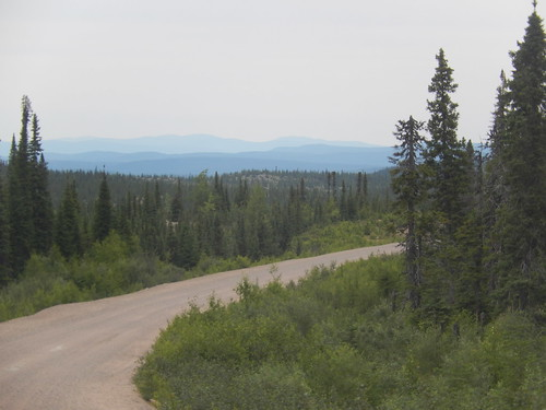 Labrador Highway  afslag naar Cartwright