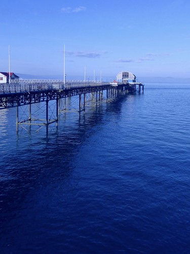 blue sea pier coast