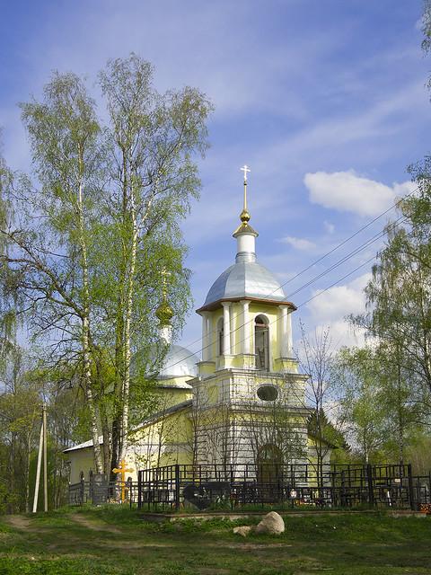 Церковь в Дорошево.