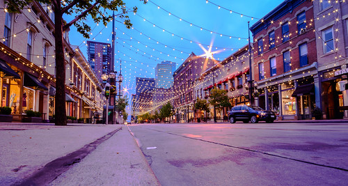 Larimer Square in Denver (Twilight Shot) | by Geoff Livingston