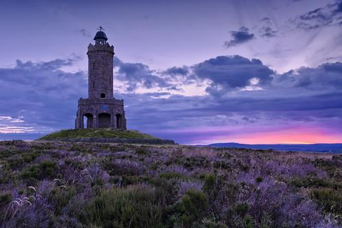 morning sky cloud tower sunrise landscape photography dawn lancashire moor darwen