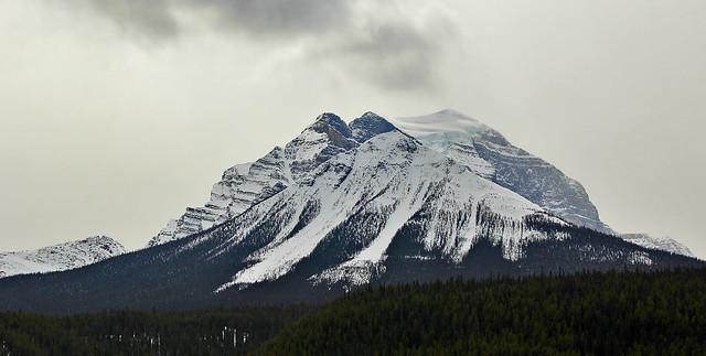Majestic Rocky Mountain Peak