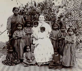 Girls Orphanage in India circa 1900_003
