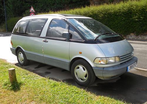 1992 Toyota Previa GL | by Spottedlaurel
