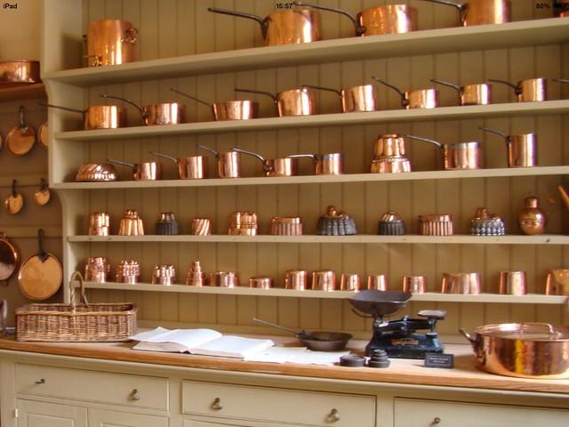 Kitchen at Attingham Park.