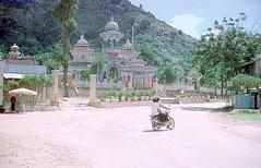 Châu Đốc 1973 - Chau Duc Tay An Pagoda - Photo by Gene Whitmer