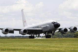Boeing RC-135V Rivet Joint ZZ664 Royal Air Force RAF Waddington 05/07/14 | by Shaun Schofield