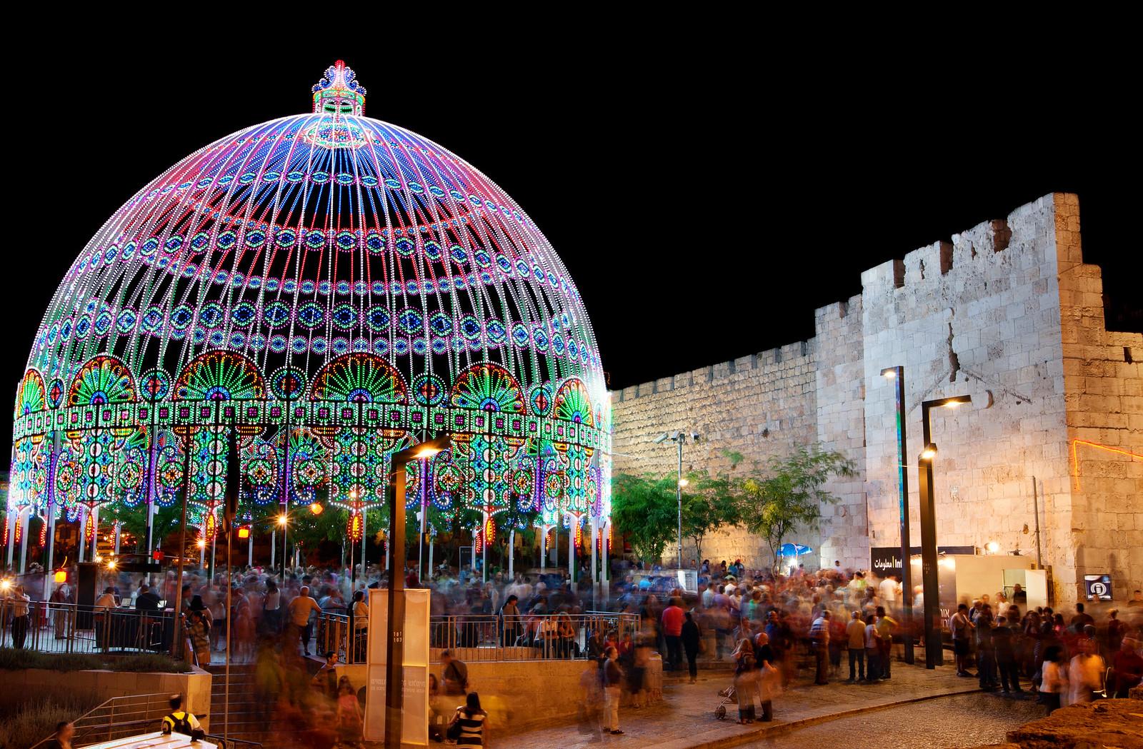 Jerusalem_Festival of Light_Old City_2_Noam Chen_IMOT