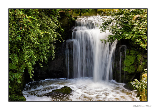 Jesmond Dene Waterfall | by Seven_Wishes