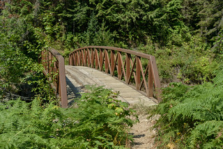 Bridge over Weitas Creek