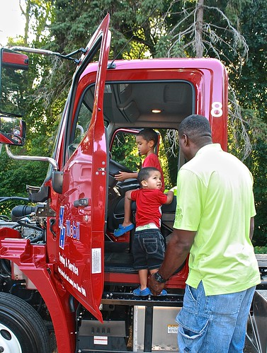 National Night Out/Touch a Truck 2014