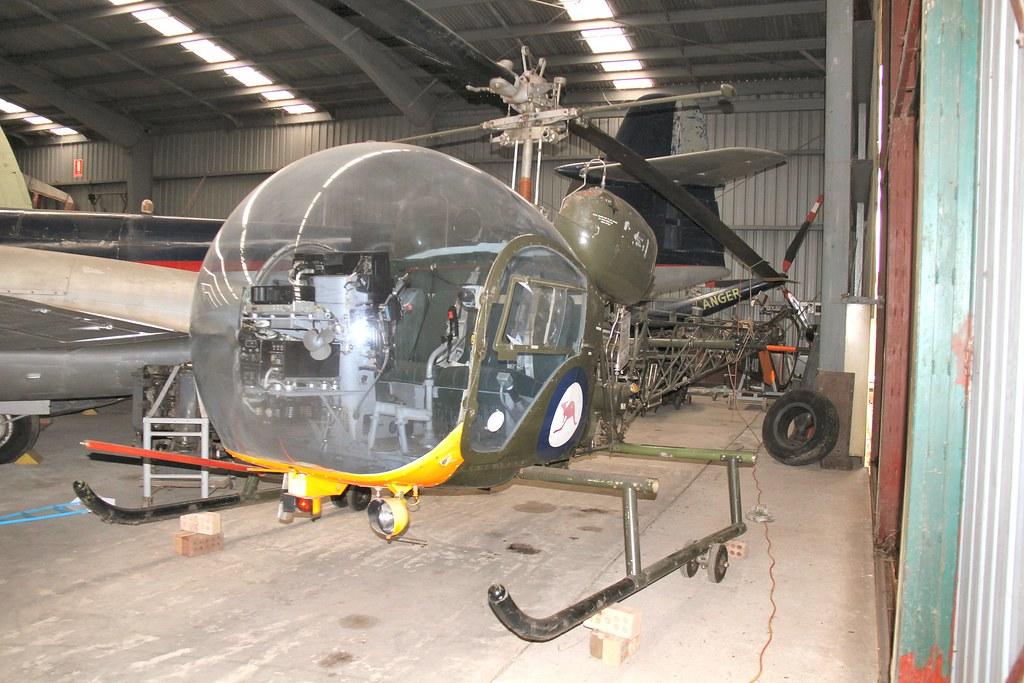 A1 410 Bell 47 Sioux