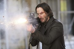 Keanu Reeves Lights The Fuse For The First JOHN WICK Poster!