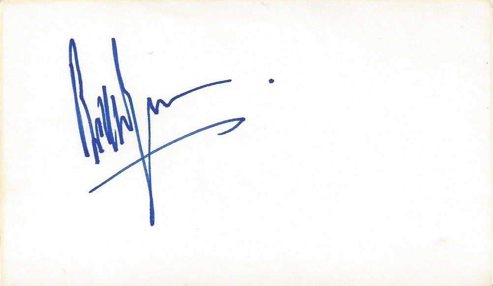 Autograph Bill Wyman - Rolling Stones | Joe Merchant | Flickr