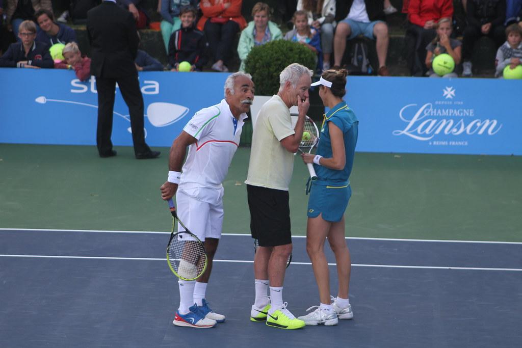 Bahrami McEnroe and Seles