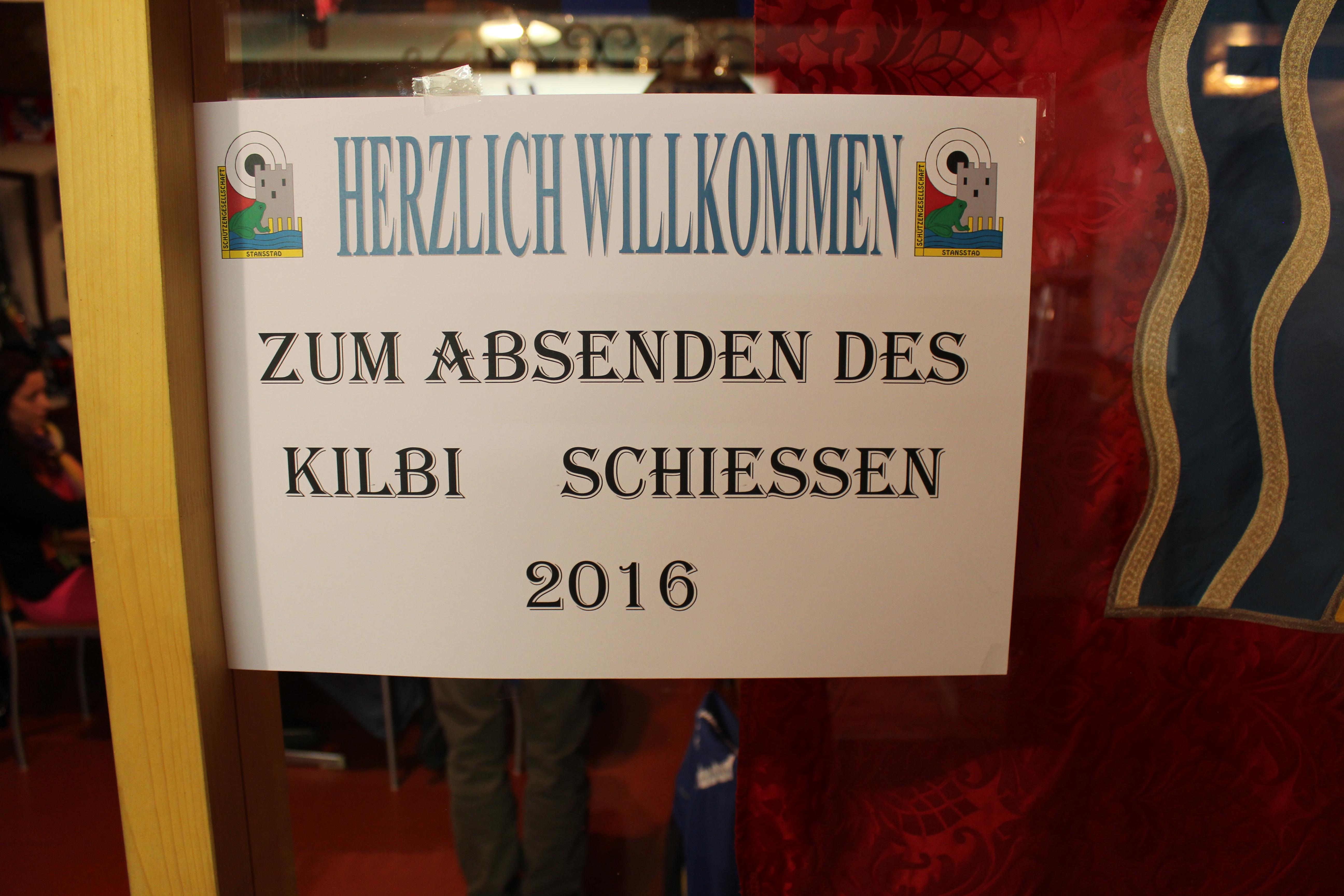 Absenden Kilbischiessen 2016