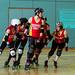 Easter Egg Shunt Dorset Roller Girls vs Bristol Harbour Harlots B
