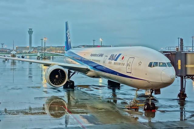 Haneda airport ANA