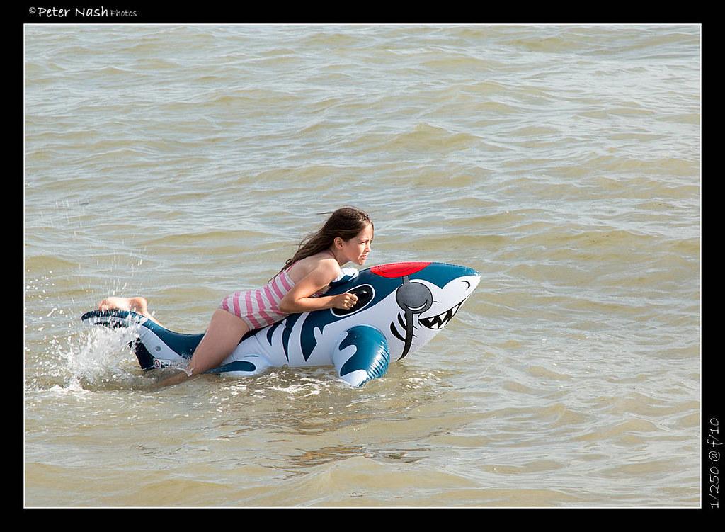 Bikini pool shark spike