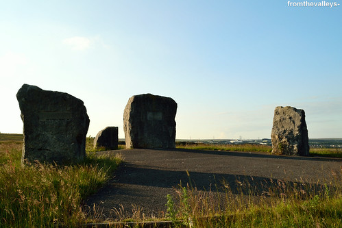Aneurin Bevan Memorial Stones | by fromthevalleys-